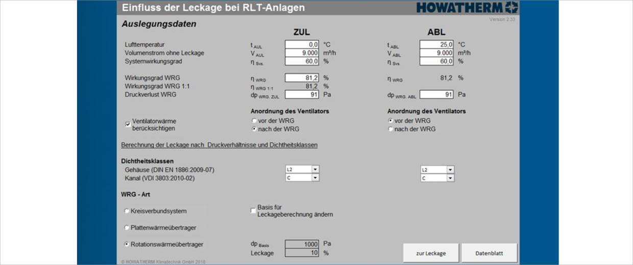 Howtherm Luftleck Tool 2
