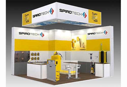Spirotech Messestand