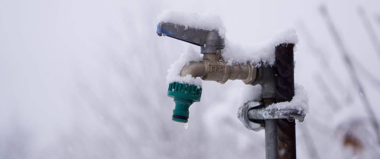 Wasseruhr Frostsicher Machen